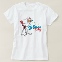 The Cat in the Hat   Dr. Seuss Day T-Shirt