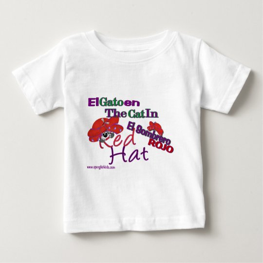 The Cat in the Red Hat Baby T-Shirt
