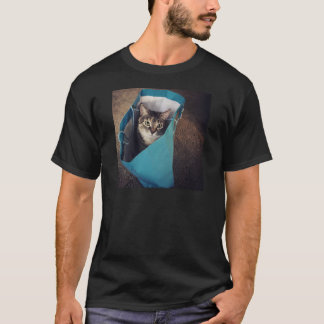 The cat is ready to come out of the bag T-Shirt