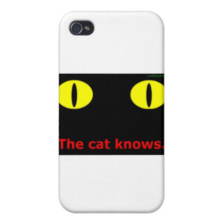 The cat knows. iPhone 4/4S cases