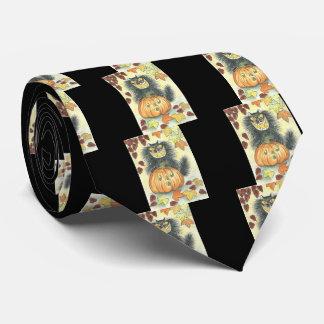 The Cat O' Lantern Tie