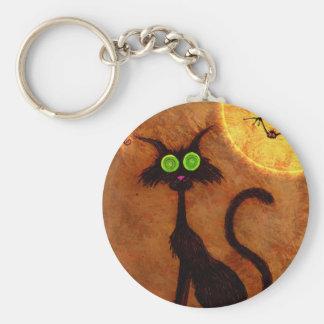The cat of Halloween - Keychain