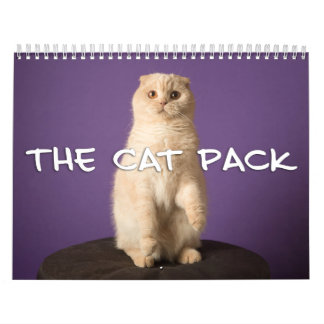 The Cat Pack Calendar
