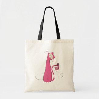 The Cat - Pink Bag