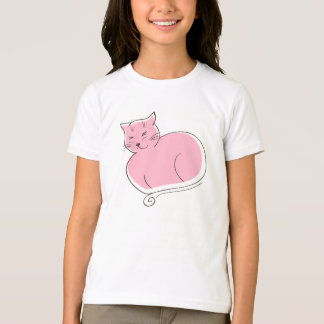 The Cat - Pink T-Shirt