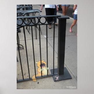 The Cat Prisoner Poster