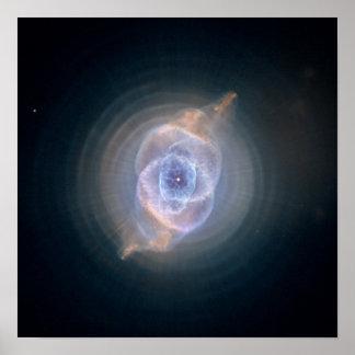 The Cat s Eye Nebula Poster