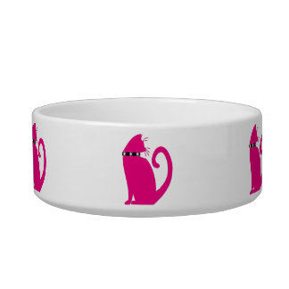 The Cat s Meow Rescue Kitty Bowl Pet Water Bowls