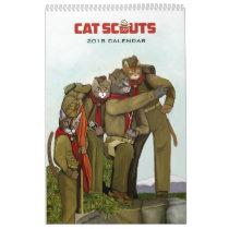 The Cat Scouts 2018-2019 Calendar