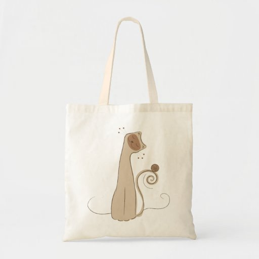 The Cat - Seal Point Canvas Bags