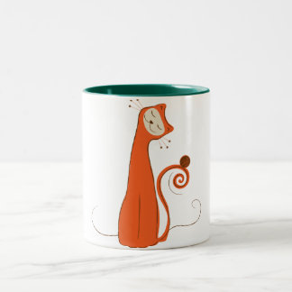The Cat - Seal Point Two-Tone Coffee Mug