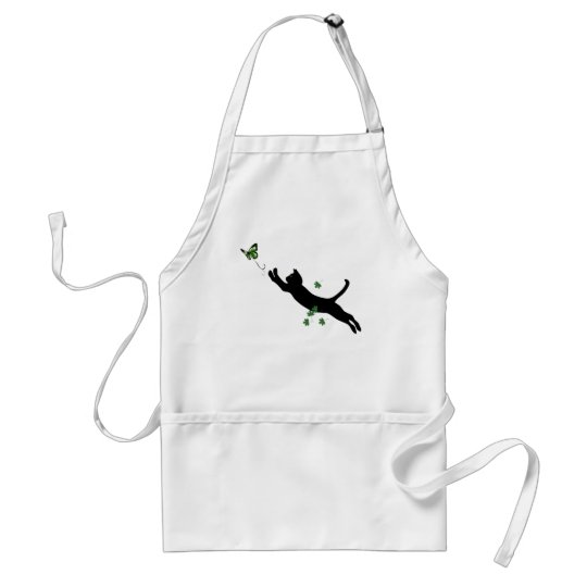 The Cat & The Butterfly Adult Apron