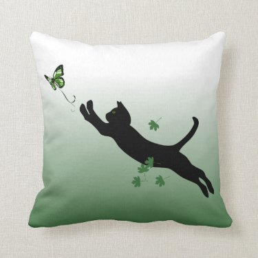 The Cat & The Butterfly Pillows