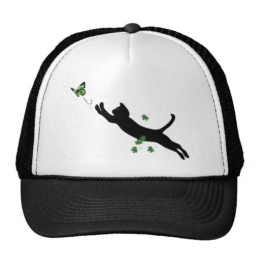 The Cat & The Butterfly Trucker Hat
