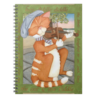 The Cat & The Fiddle Notebook