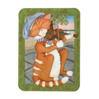 The Cat & The Fiddle Rectangular Photo Magnet