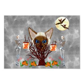 The Cat Tree 3.5x5 Paper Invitation Card