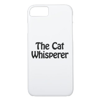 the cat whisperer iPhone 8/7 case