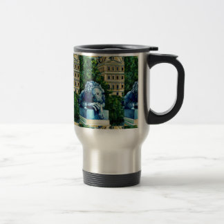 The Cat, Who ate the Canary, Washington DC Travel Mug