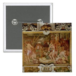 The Catanaean Twins, Anapias and Amphinamus Pinback Button