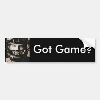The Catcher Bumper Sticker