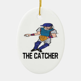 The Catcher Ceramic Ornament