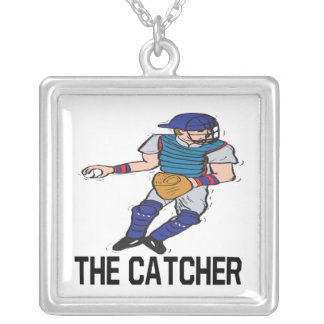 The Catcher Silver Plated Necklace