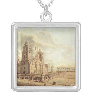 The Catedral Metropolitana Square Pendant Necklace