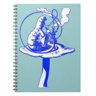 The Caterpillar in Blue Notebook