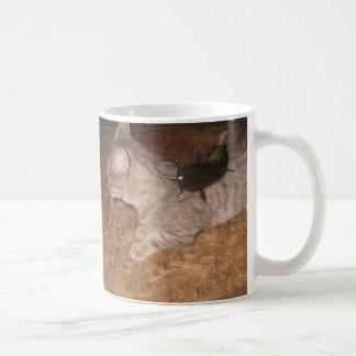 The Catfish caught the Cat! Mug