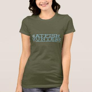 The Catfish Hunters • Ladies Basic Logo T-Shirt