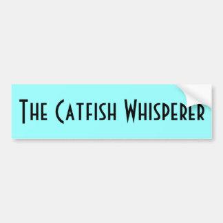 The Catfish Whisperer Bumper Stickers