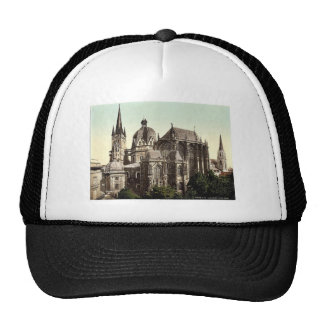 The cathedral, Aachen, the Rhine, Germany rare Pho Trucker Hat