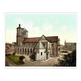 The cathedral, Brunswick (i.e. Braunschweig), Germ Postcard