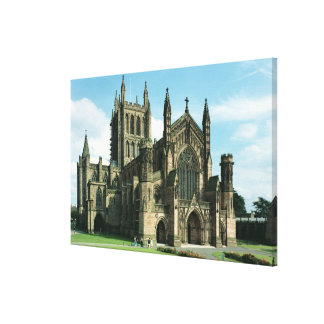 The Cathedral Church of the Blessed Virgin Mary an Canvas Print