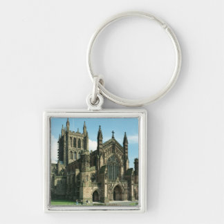 The Cathedral Church of the Blessed Virgin Mary an Keychains