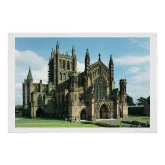 The Cathedral Church of the Blessed Virgin Mary an Posters