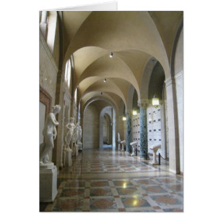 The Cathedral Corridor Card