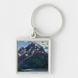 The Cathedral Group In Grand Teton National Keychain