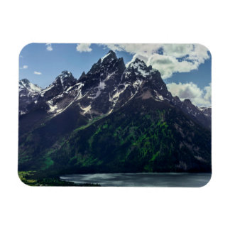 The Cathedral Group In Grand Teton National Magnet
