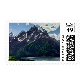 The Cathedral Group In Grand Teton National Postage