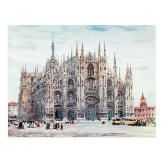The Cathedral, Milan Postcard