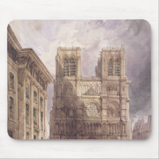 The Cathedral of Notre Dame, Paris, 1836 Mouse Pad