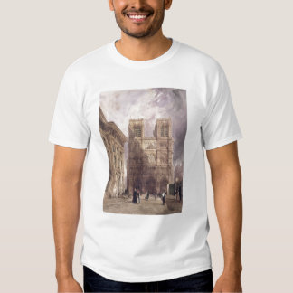 The Cathedral of Notre Dame, Paris, 1836 Tee Shirt