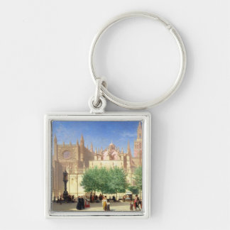 The Cathedral of Seville Keychain