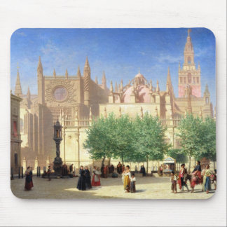 The Cathedral of Seville Mouse Pad