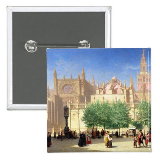 The Cathedral of Seville Pinback Button