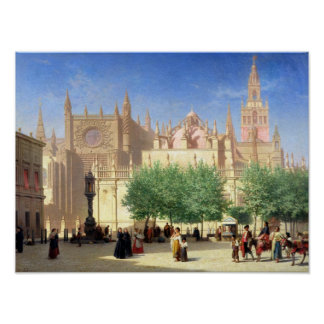 The Cathedral of Seville Poster