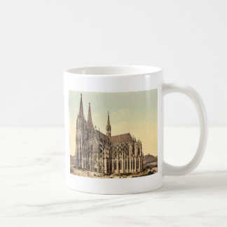 The cathedral, side, Cologne, the Rhine, Germany r Classic White Coffee Mug