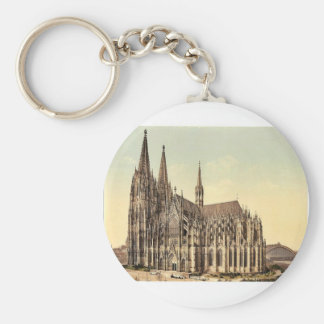 The cathedral, side, Cologne, the Rhine, Germany r Keychain